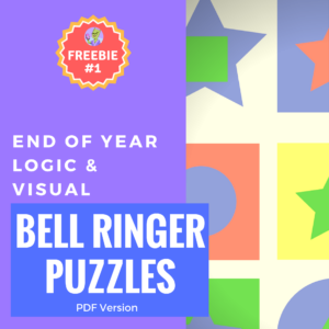 end of year bellringer puzzles