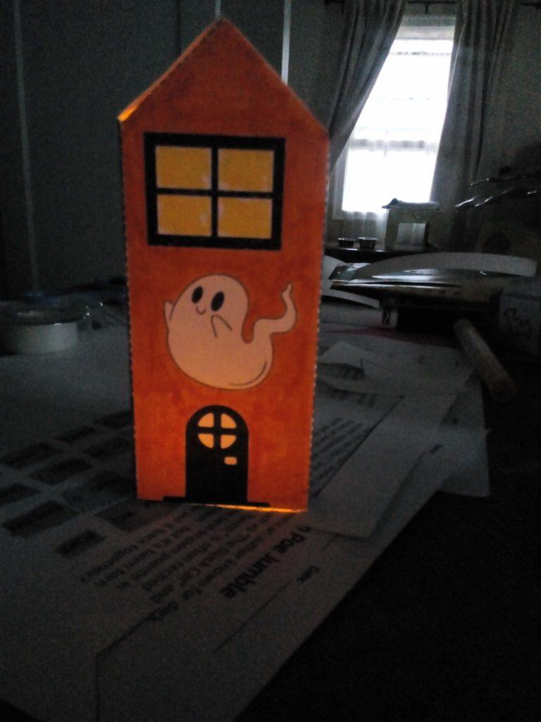 Halloween night light