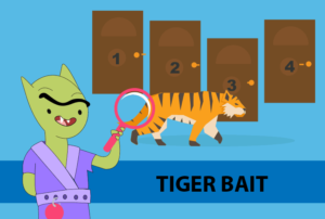 New logic puzzle posted! Tiger Bait 11