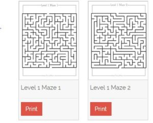free printable puzzles for kids from brainy maze