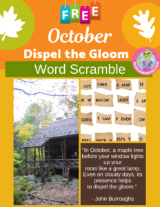 october word puzzle