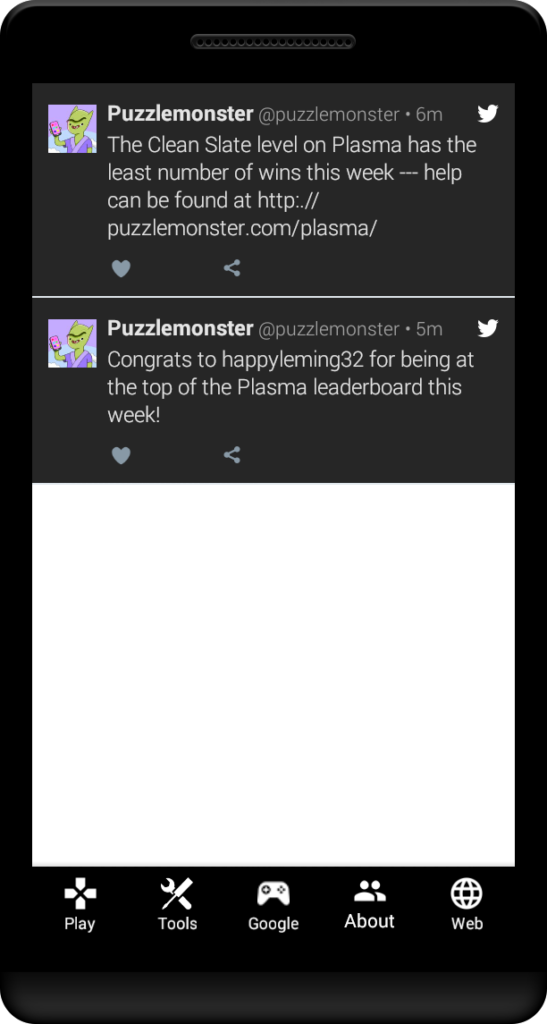puzzle games twitter