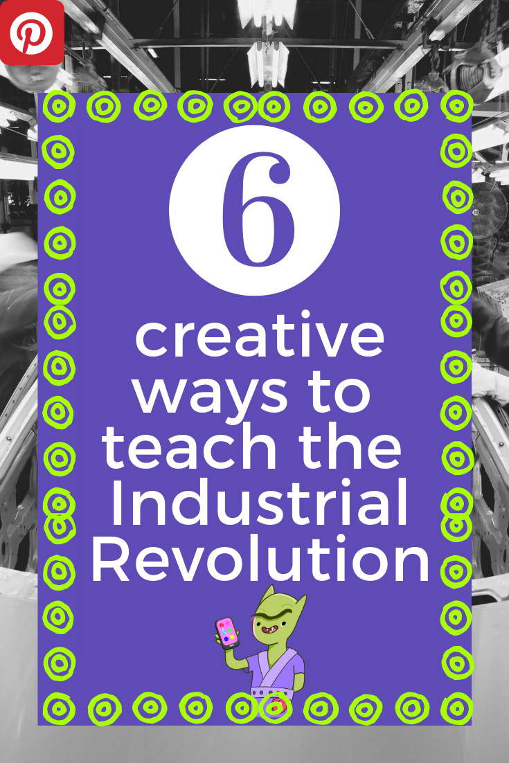 industrial revolution lessons