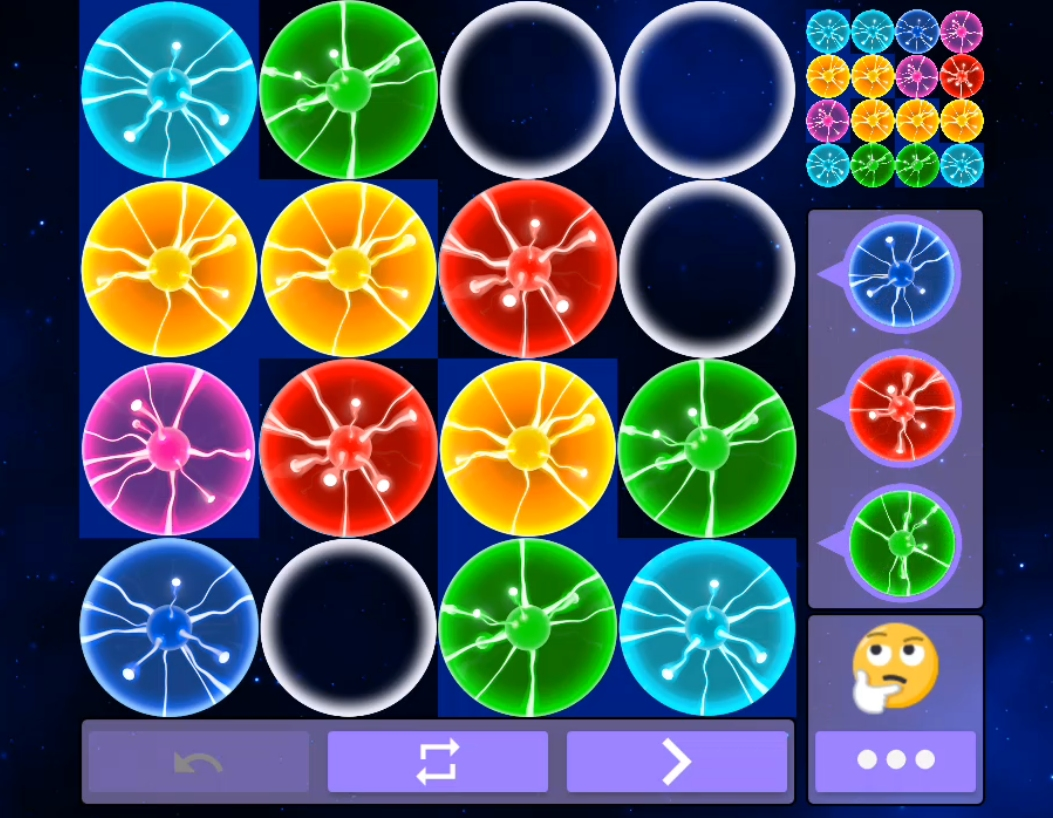 Plasma puzzle game for Android