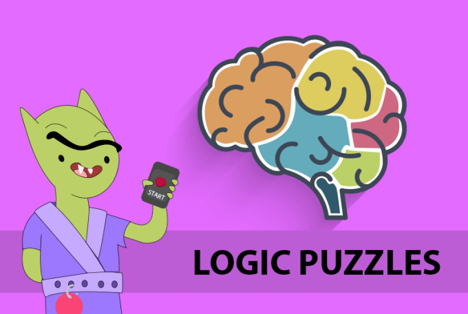 logic puzzles and puzzle games